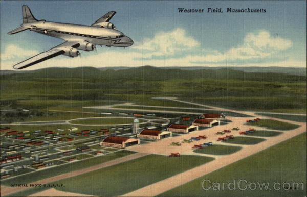 Aerial View of Westover Field Massachusetts