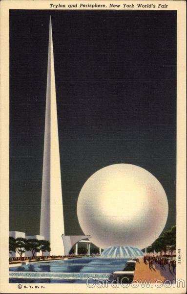 Trylon And Perisphere World Fair