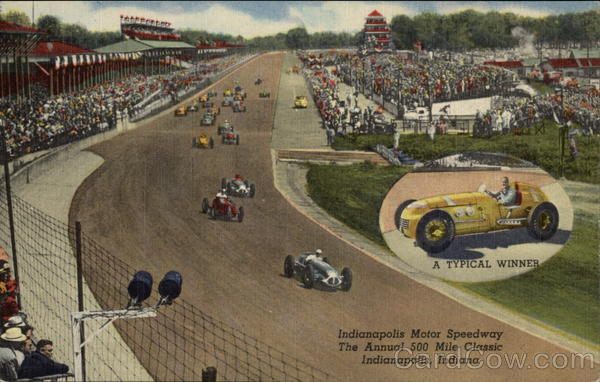 Indianapolis Motor Speedway Auto Racing