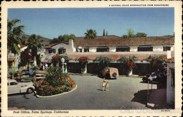Post Office Palm Springs California