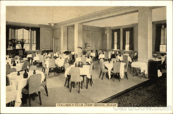 Columbus Club New Dining Room Brooklyn New York
