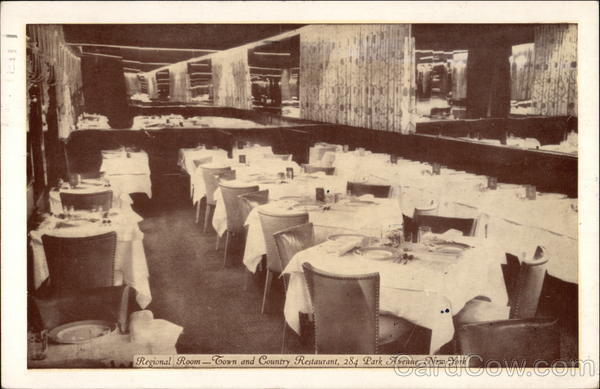 Regional Room - Town and Country Restaurant New York