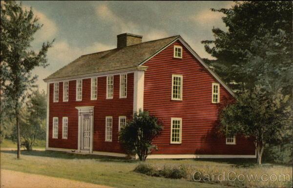 Saltbox House Old Sturbridge Village