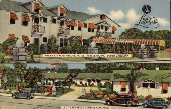 Lady Lafayette Hotel and Cottages Walterboro South Carolina