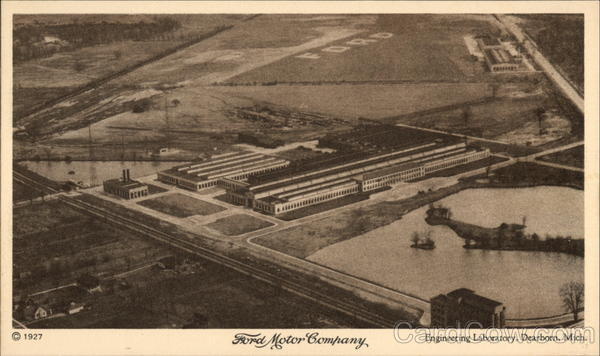 Ford Motor Company Engineering Laboratory Dearborn Michigan
