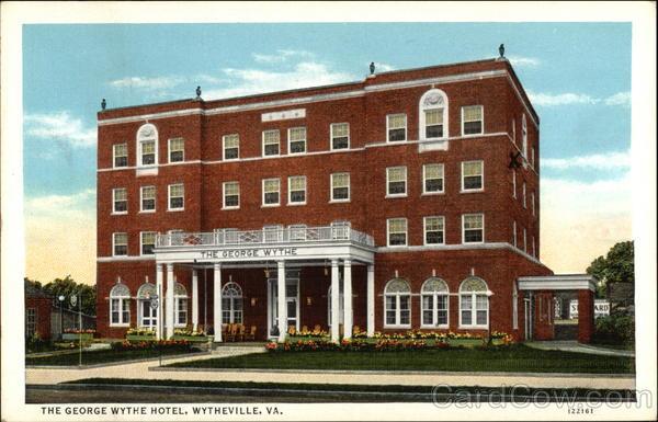 The George Wythe Hotel Wytheville Virginia