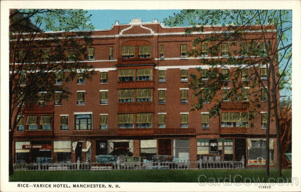 Rice-Varick Hotel Manchester New Hampshire