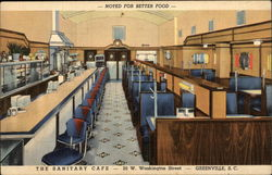 The Sanitary Cafe - Noted for Better Food - 20 W. Washington Street
