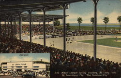 Major League Spring Training, Al Lang Field Postcard