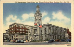 Huron County Court House and Citizens National Bank Building