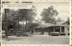 Mader's Cabin & Cottage Resort - West Shore, Shawano Lake Postcard