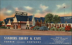 Birthplace of KFC: Sanders Court & Cafe