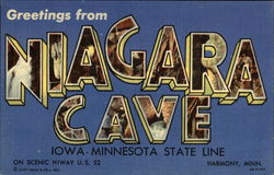 Greetings from Niagara Cave