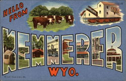 Hello from Kemmerer, Wyoming