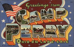 Greetings from Camp Perry, Ohio, on Lake Erie