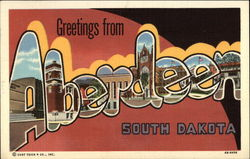 Greetings from Aberdeen, South Dakota
