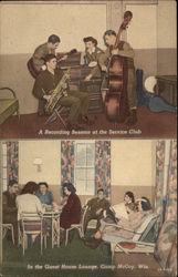 Service Club and Guest House Lounge