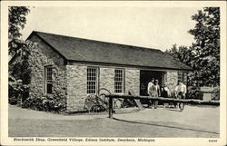 Blacksmith Shop, Greenfield Village, Edison Institute