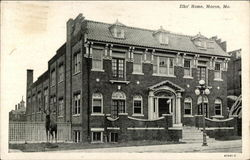 Elks' Home Postcard