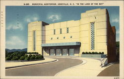 Municipal Auditorium In the Land of the Sky