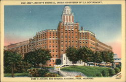 New Army and Navy Hospital, Under Supervision of US Government