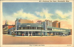 Greyhound Bus Depot, City of Lakes and Parks