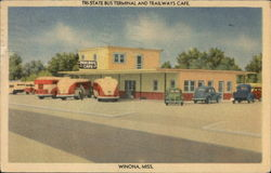 Tri-State Bus Terminal and Trailways Cafe