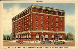 Hotel Humboldt-Center of New Gold Mining Activity Postcard