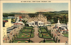 View of Mall, Coney Island