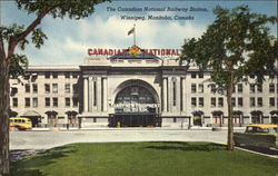 The Canadian National Railway Station