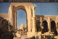 Arch of Triumph From the Court of Flowers