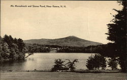 Mt. Monadnock and Stone Pond