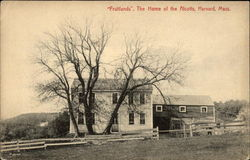 """Fruitlands"" - The Home of the Alcotts"