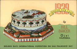 1939 World's Fair Cake by Bill Baker