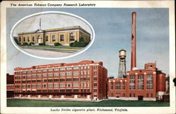 Lucky Strike Cigarette Plant - American Tobacco Company Research Laboratory