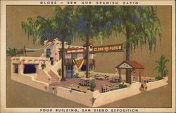 Globe - Ben Hur Spanish Patio