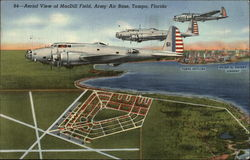 Aerial View of MacDill Field, Army Air Force Base