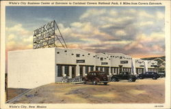White's City Business Center Postcard