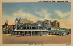 Greyhound Bus Depot - City of Lakes and Parks