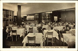 Main Dining Room-Caruso-42 West 33rd Steet, New York