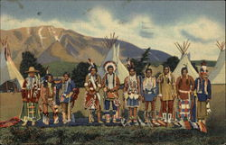 Apache Indians in Camp