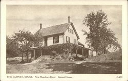 The Gurnet House, New Meadows River
