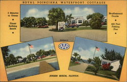 Royal Poinciana Waterfront Cottages Postcard