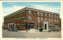 "Hotel General Quitman - ""Where Safety and Comfort Cost so Little"""