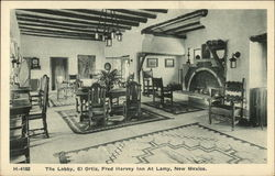The Lobby, El Ortiz, Fred Harvey Inn