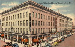 Hotel Willard and Loew's Theater