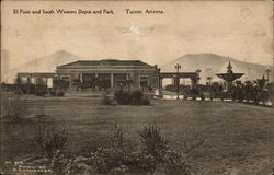 El Paso and South Western Depot and Park