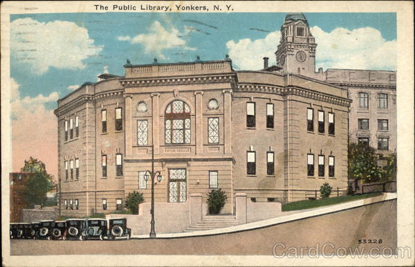 The Public Library Yonkers New York