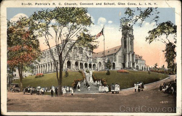 St. Patrick's Roman Catholic Church, Convent and School Glen Cove New York
