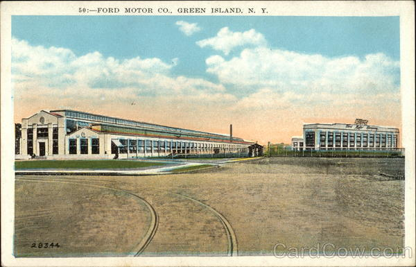 Ford Motor Co Green Island New York